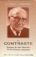 EL CONTRASTE : ENSAYO DE UNA FILOSOFIA DE LO VIVIENTE-CONCRETO
