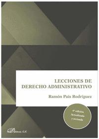 LECCIONES DE DERECHO ADMINISTRATIVO 4´ED (PRECIO PROVISIONAL).