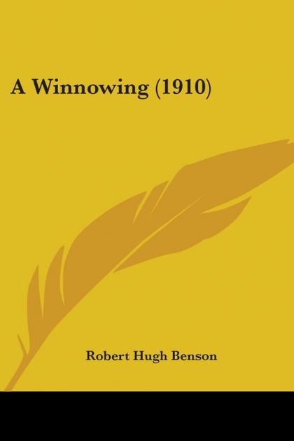 A WINNOWING (1910)