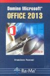 DOMINE MICROSOFT OFFICE 2013.