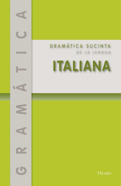 GRAMATICA SUCINTA DE LA LENGUA ITALIANA