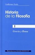 HISTORIA DE LA FILOSOFÍA. I: GRECIA Y ROMA.