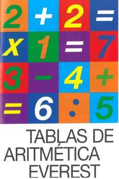 TABLAS DE ARITMETICA.