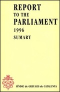 REPORT TO THE PARLIAMENT 1996 : SUMARY