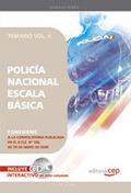 POLICÍA NACIONAL ESCALA BÁSICA. TEMARIO VOL. II..