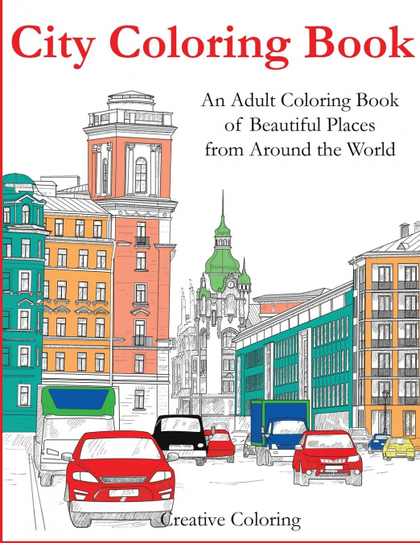 CITY COLORING BOOK.