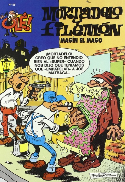 MORTADELO FILEMON MAGIN MAGO