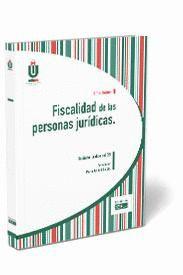 FISCALIDAD DE LAS PERSONAS JURÍDICAS