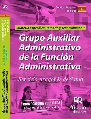 GRUPO AUXILIARADMINISTRATIVO DE LA FUNCIÓN ADMINIS.