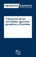 MEMENTO EXPERTO TRIBUTACION ACTIVIDADES AGRICOLAS GANADERAS