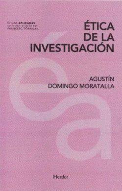 ÉTICA DE LA INVESTIGACIÓN.