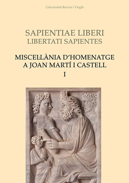 MISCEL·LÀNIA D´HOMENATGE A JOAN MARTÍ I CASTELL (I).