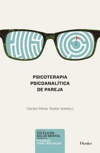 PSICOTERAPIA PSICOANALÍTICA DE PAREJA.