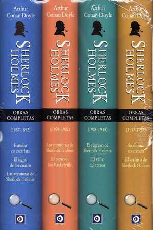 OBRAS COMPLETAS DE SHERLOCK HOLMES.