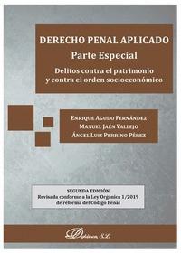 DERECHO PENAL APLICADO. PARTE ESPECIAL 2ª ED.