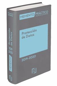 MEMENTO PROTECCIÓN DE DATOS 2019-2020.