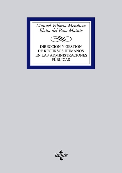 MANUAL DE GESTIÓN DE RECURSOS HUMANOS EN LAS ADMINISTRACIONES PÚBLICAS
