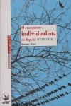 EL ANARQUISMO INDIVIDUALISTA EN ESPAÑA (1923-1938)