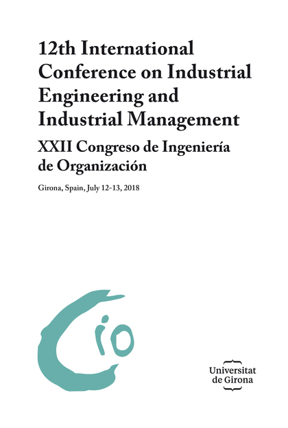12TH INTERNATIONAL CONFERENCE ON INDUSTRIAL ENGINEERING AND INDUSTRIAL MANAGEMEN