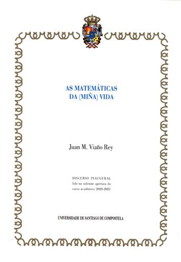AS MATEMÁTICAS DA (MIÑA) VIDA