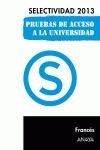 FRANCÉS, SELECTIVIDAD, PRUEBA ACCESO UNIVERSIDAD