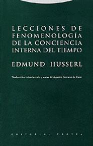 LECCIONES DE FENOMENOLOGÍA DE LA CONCIENCIA INTERNA DEL TIEMPO