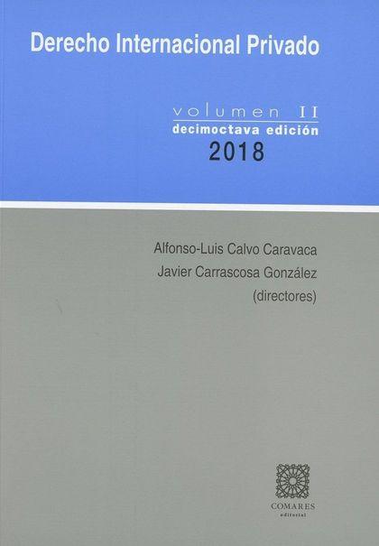 DERECHO INTERNACIONAL PRIVADO - VOL. II (18)