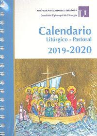 CALENDARIO LITÚRGICO PASTORAL 2019-2020