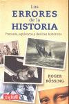 LOS ERRORES DE LA HISTORIA