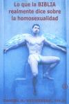 LO QUE LA BIBLIA REALMENTE DICE SOBRE LA HOMOSEXUALIDAD