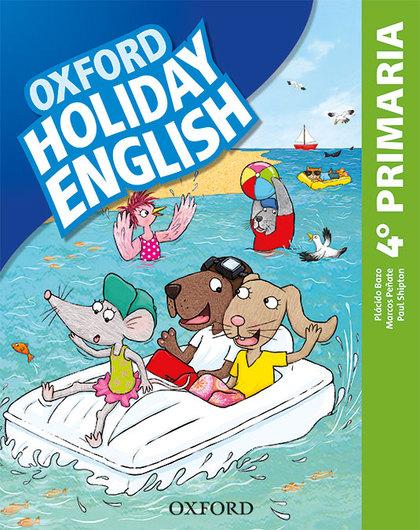 HOLIDAY ENGLISH 4.º PRIMARIA. STUDENT´S PACK 4RD EDITION. REVISED EDITION