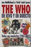 THE WHO EN VIVO Y EN DIRECTO. TODOS SUS CONCIERTOS (1962-2002)