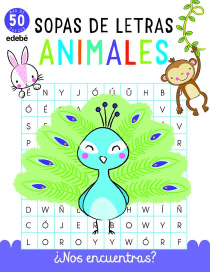 SOPAS DE LETRAS: ANIMALES.