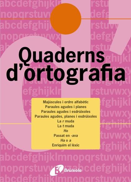 QUADERNS D´ORTOGRAFIA 8, EDUCACIÓ PRIMÀRIA