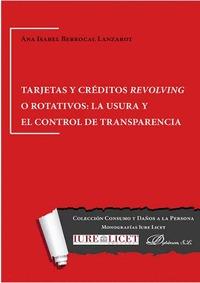 TARJETAS Y CRÉDITOS REVOLVING O ROTATIVOS.