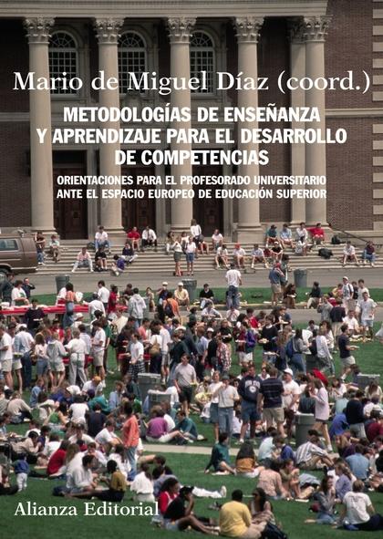Metodología de enseñanzas y aprendizaje para el desarrollo de competencias