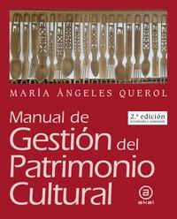 MANUAL DE GESTION DEL PATRIMONIO CULTURAL.