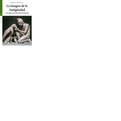 LA IMAGEN DE LA ANTIGÜEDAD EN TIEMPOS DE LA REVOLUCIÓN FRANCESA