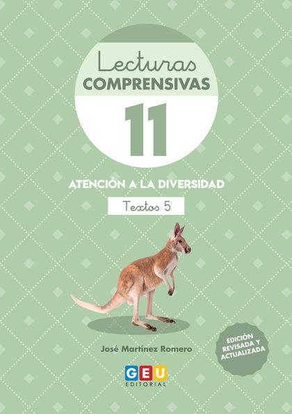 LECTURAS COMPRENSIVAS 11 3ªED.