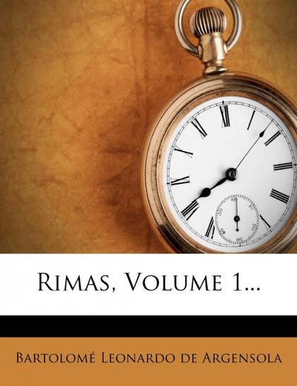 RIMAS, VOLUME 1...