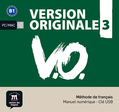 VERSION ORIGINALE 3 NIVEL B1 LLAVE USB CON LIBRO DIGITAL