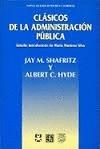 Clásicos de la administración pública