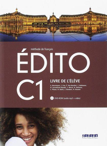 EDITO C1 ELEVE+DVD ROM ED.18.