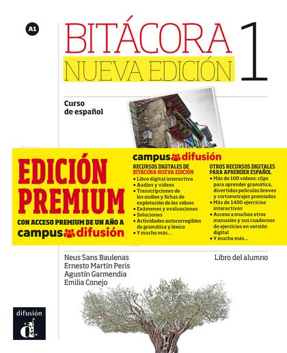 BITÁCORA 1 ALUMNO + CD + CAMPUS  (EDICIÓN PREMIUM)