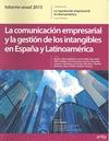 COMUNICACION EMPRESARIAL Y LA GESTION INTANGIBLES EN ESPAÑA. LA REPUTACIÓN EMPRESARIAL EN IBERO