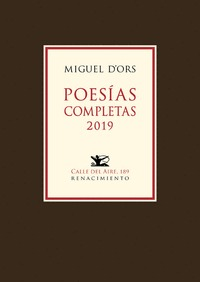 POESÍAS COMPLETAS 2019.