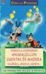 CREATIVOS Y SORPRENDENTES ANIMALES CON CUENTAS DE MADERA