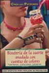 BISUTERÍA DE LA SUERTE ANUDADA CON CUENTAS DE COLORES: TOBILLERAS, CINTURONES, PULSERAS--