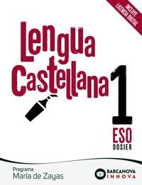 MARÍA DE ZAYAS 1 ESO. LENGUA CASTELLANA. NOVETAT