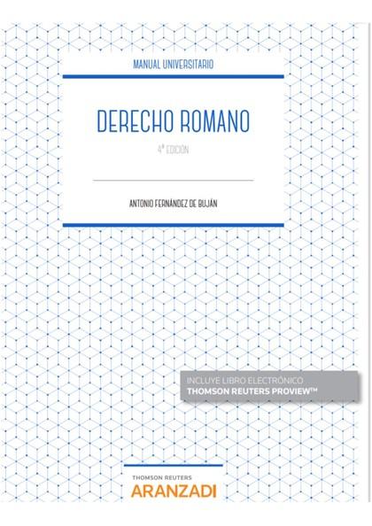 DERECHO ROMANO.